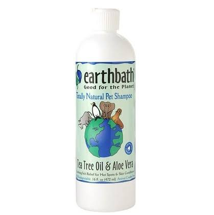Earthbath Shampoo - Tea Tree Oil And Aloe Vera, 472ml