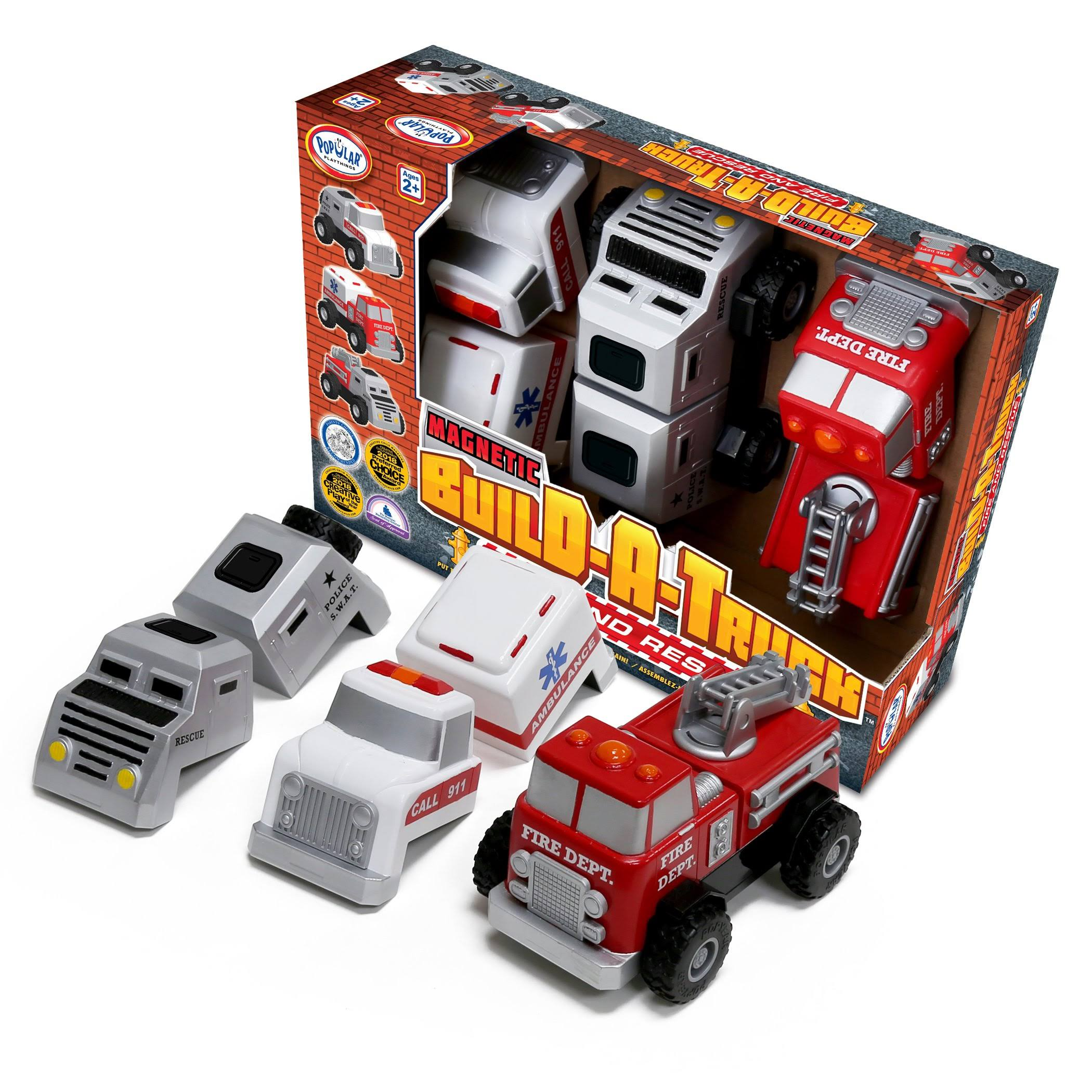 Popular Playthings Build - A - Truck Rescue