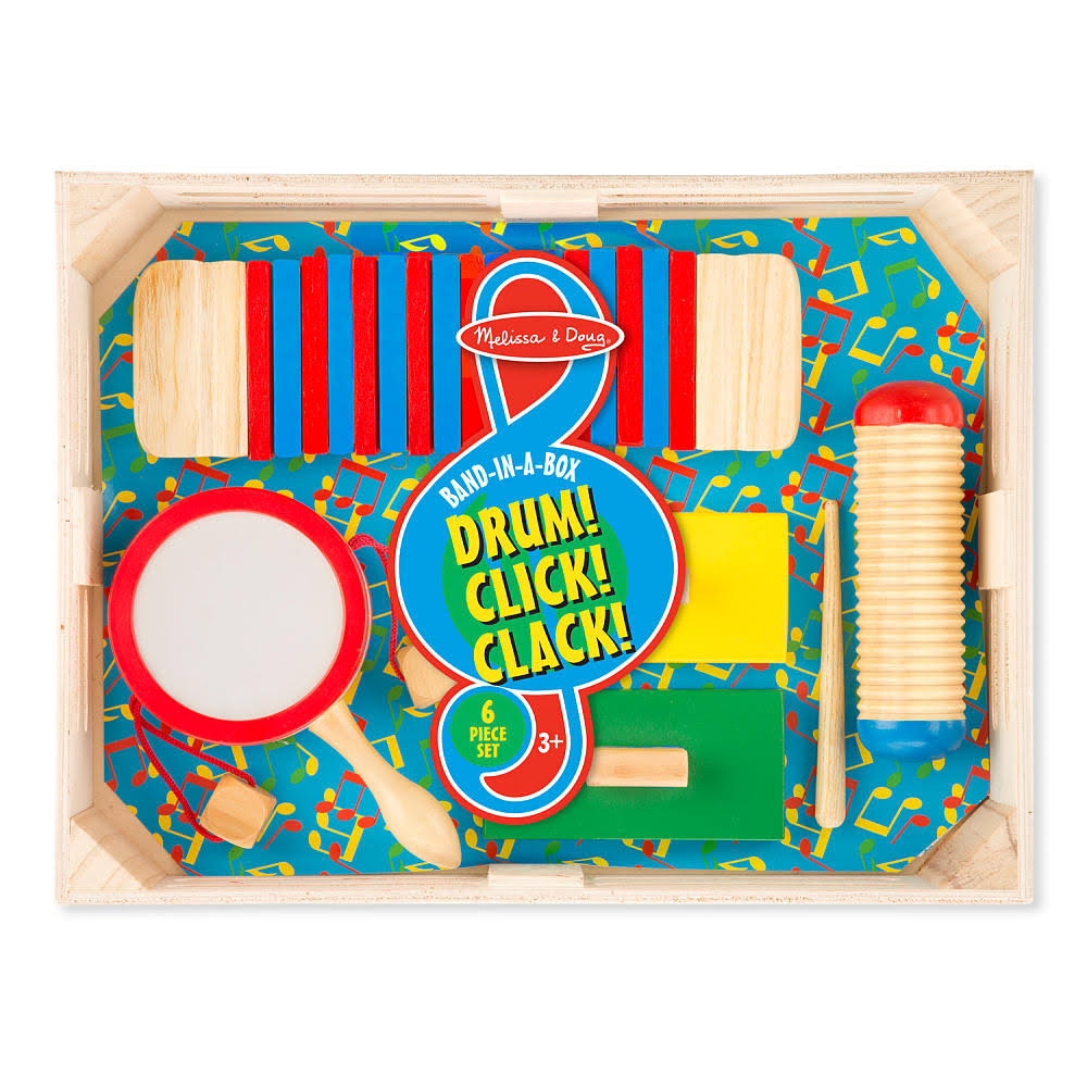 Melissa & Doug Band in A Box: Drum! Click! Clack!