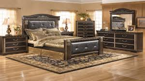 Coal Creek Bedroom Set by Ashley Home Furniture Mirrors Vanity Decoration