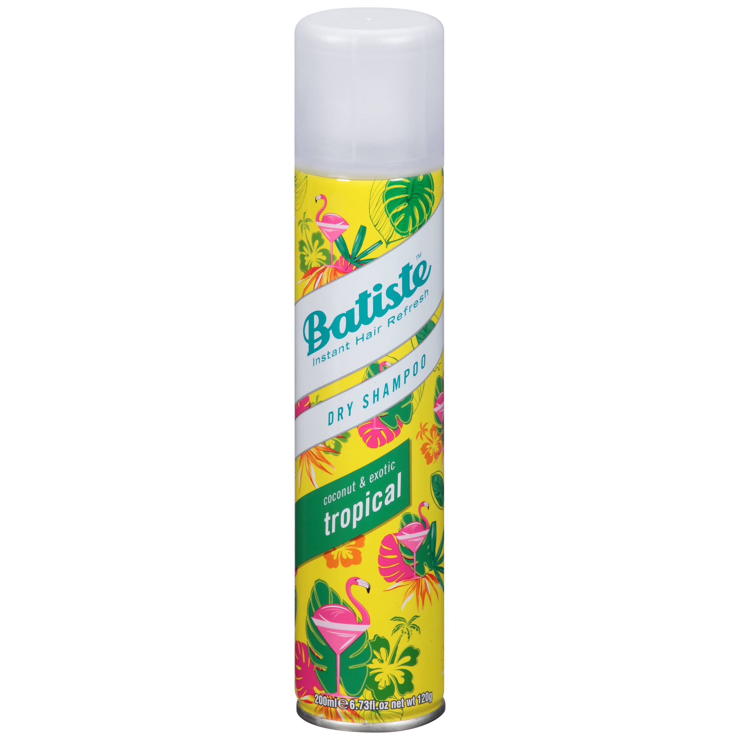 Batiste Dry Shampoo - Coconut and Exotic Tropical, 200ml