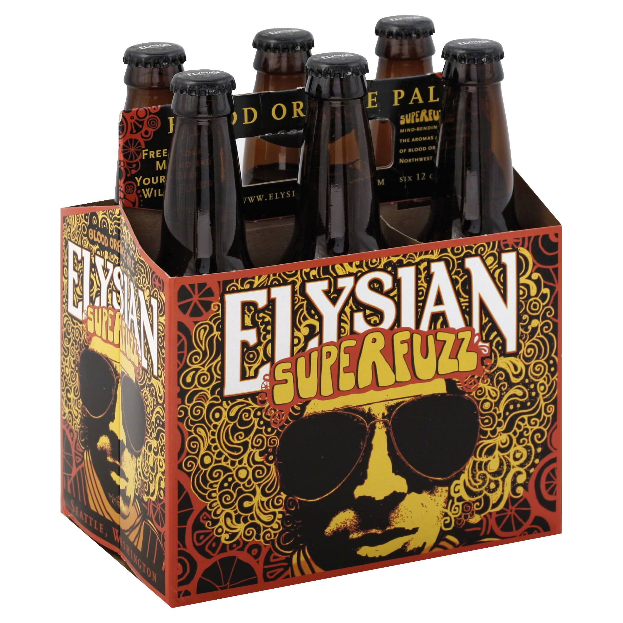 Elysian Beer, SuperFuzz - 6 bottles