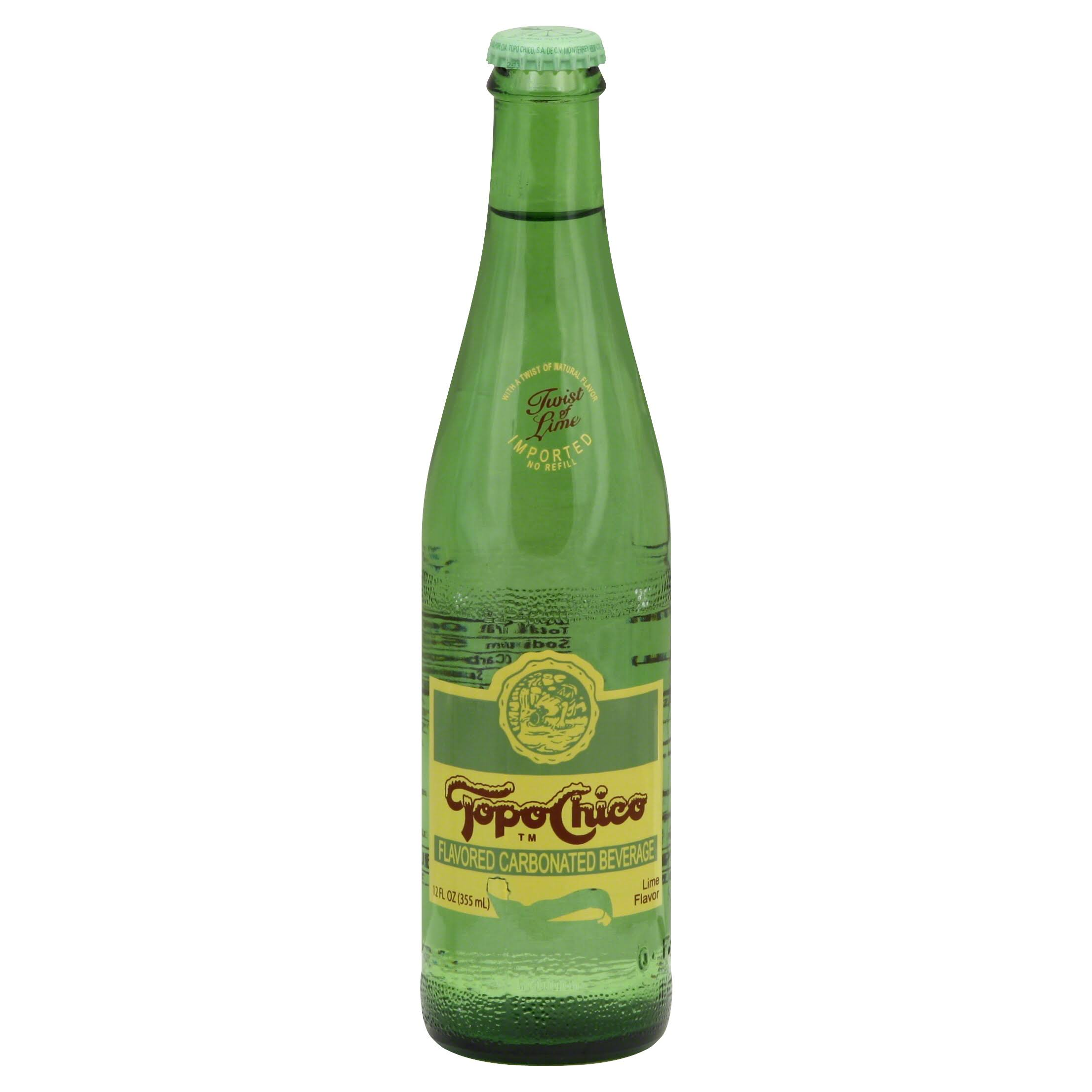Topo Chico Mineral Water - Twist of Lime, 11.5oz