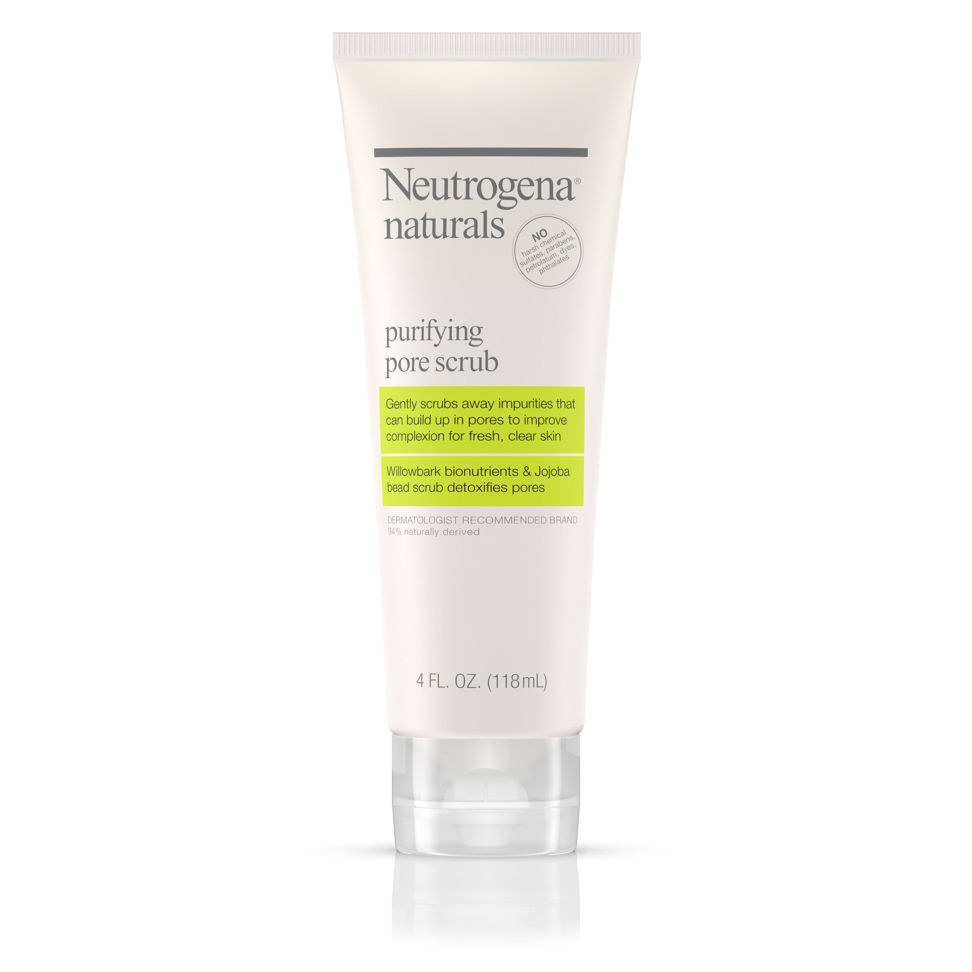 Neutrogena Naturals Purifying Pore Scrub - 4oz
