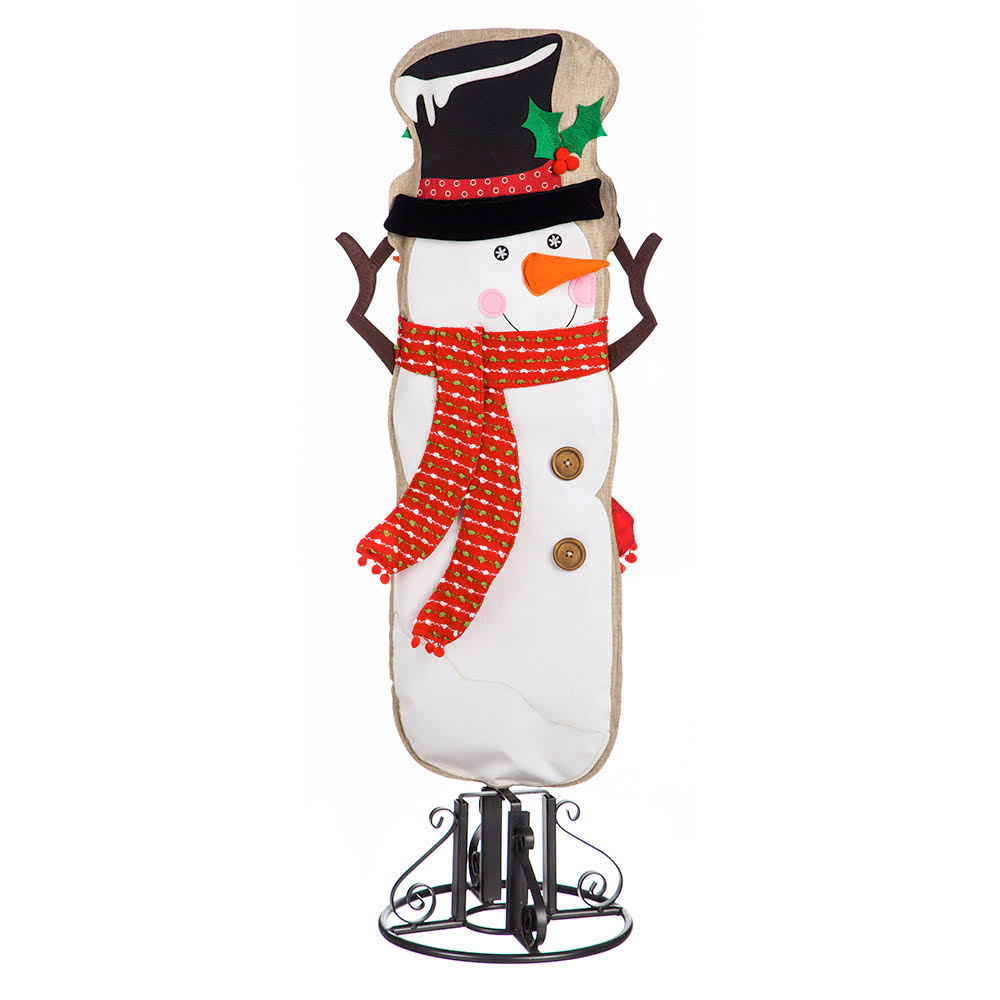 Wind & Weather Snowman Decorative Banner