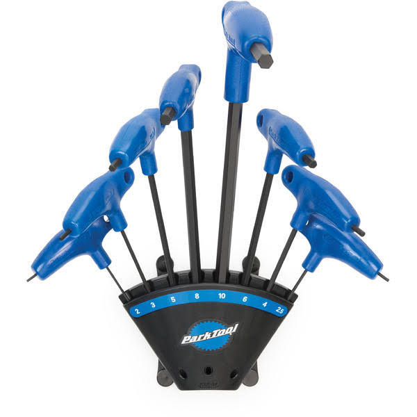 Park Tool Cycling Handled Hex with Holder Wrench Set - Blue/Black