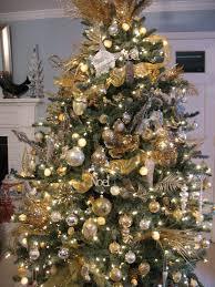 Raz Gold Christmas Trees by Christmas Tree Decorations U2013 Gold And Silver U2013 Happy Holidays