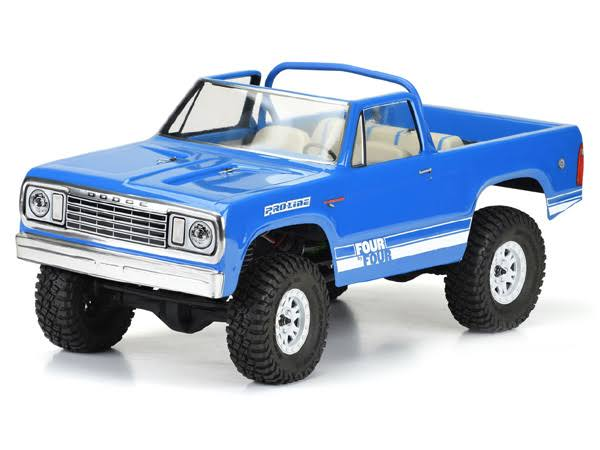 "Pro Line 1977 Dodge Ramcharger Body 12.3"" WB Crawlers PRO352500"