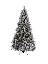 Balsam Christmas Tree Australia by Bavarian Pine Christmas Tree With Snow 7ft Christmas Tree