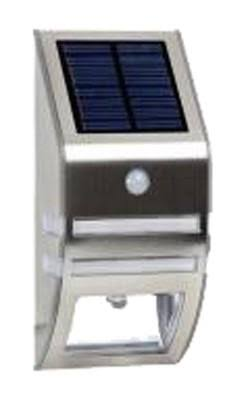 Four Seasons Courtyard SL9836S Stainless Steel Solar Motion Lamp
