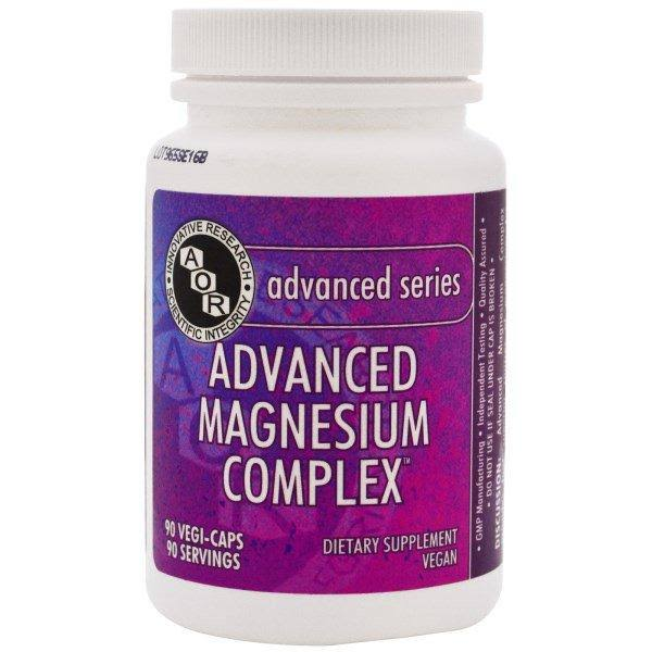 Advanced Orthomolecular Research AOR, Advanced Magnesium Complex, 90 Vegetarian Capsules