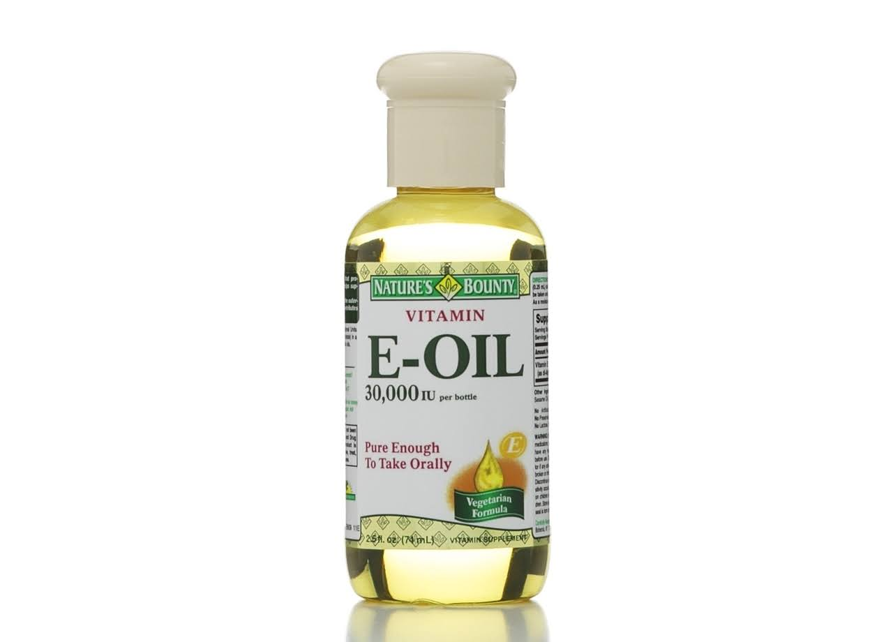 Nature's Bounty E-Oil Vitamin Supplement - 30,000 IU, 74ml