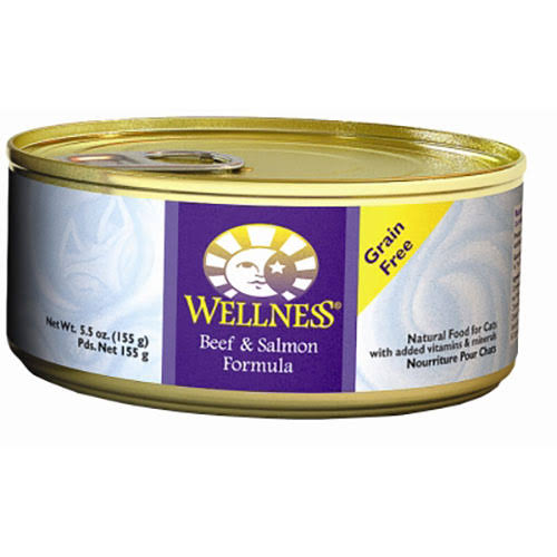Wellness Cat BEEF/SALMON 24/5.5 oz