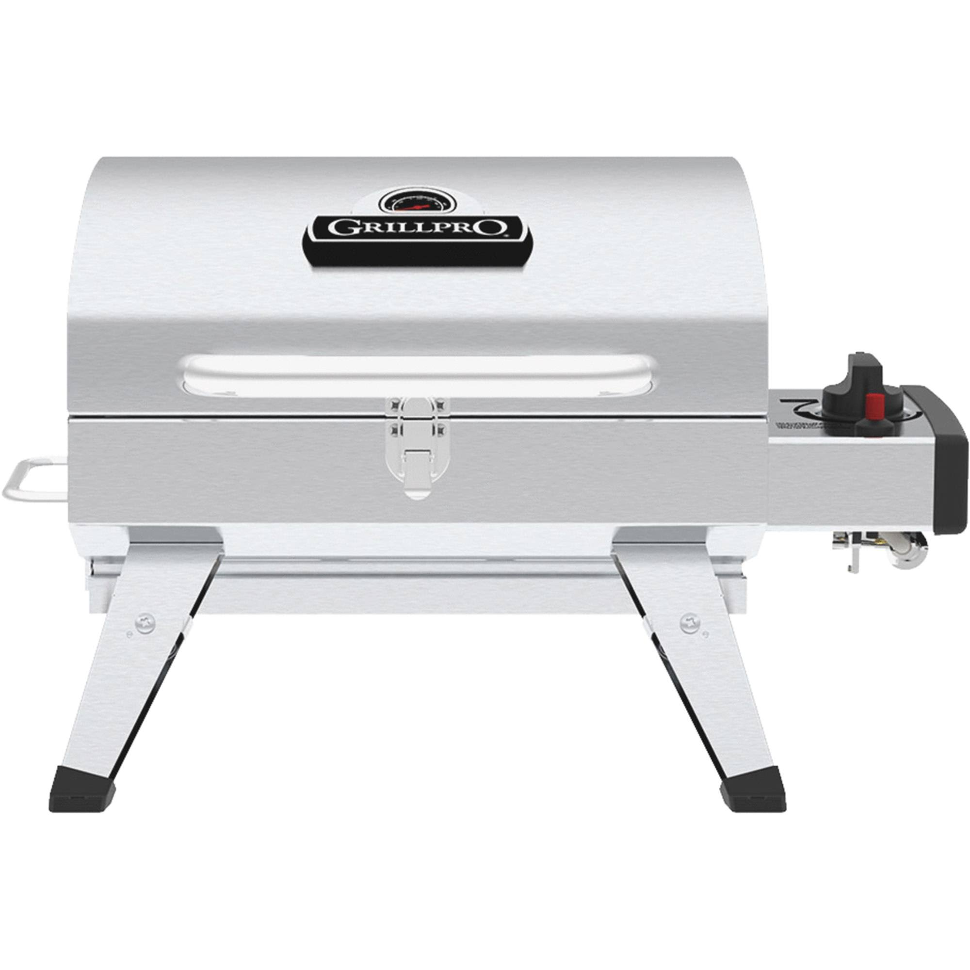 GrillPro Table Top Stainless Steel Propane Gas Grill
