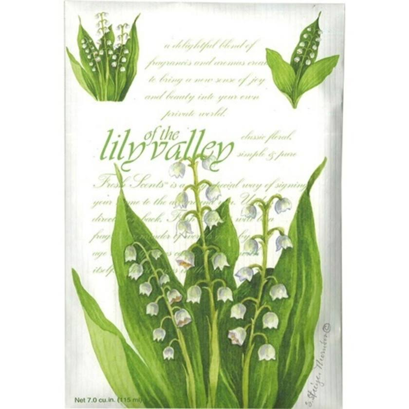 Fresh Scents Scented Sachets - Lily of The Valley