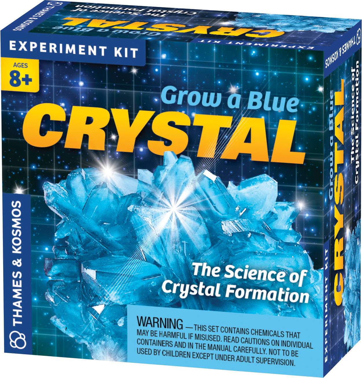 Thames & Kosmos Grow A Blue Crystal Experiment Kit