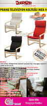 Ikea Glider Chair Poang by Ikea Poang Tv Koltuğu Kirmizi Housemax Pinterest