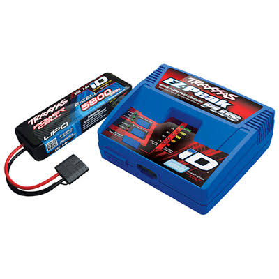 Traxxas iD Charger with 2S 2-Cell LiPo Battery - 5800mAh, 25C, 7.4V