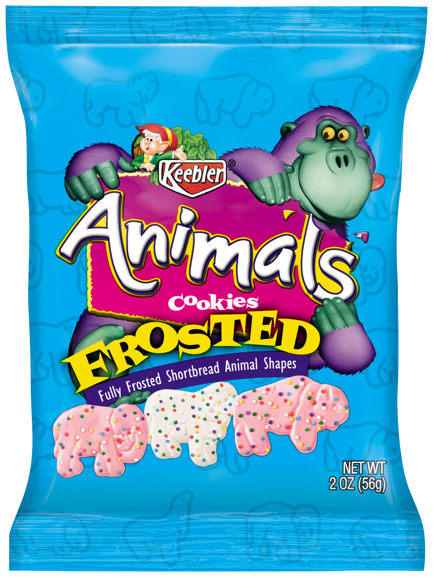 Keebler Frosted Animal Crackers - 2oz