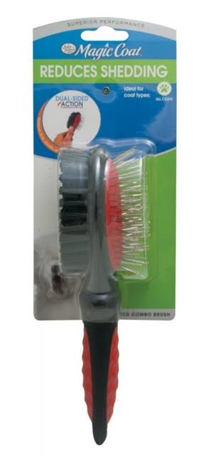 Four Paws Magic Coat Dog Grooming Combo Brush