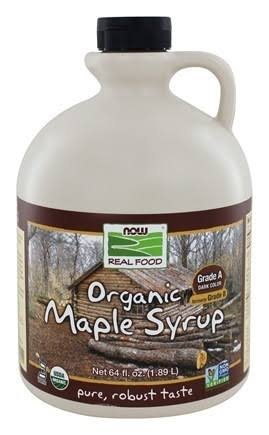 Now Foods Organic Syrup - Maple, 64 fl oz