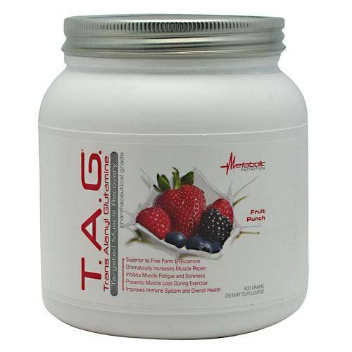 Metabolic Nutrition Tag Diet Supplement Powder - Fruit Punch