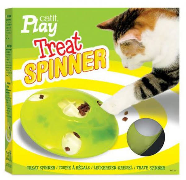 Catit 43750 Play Treat Spinner Interactive Cat Toy
