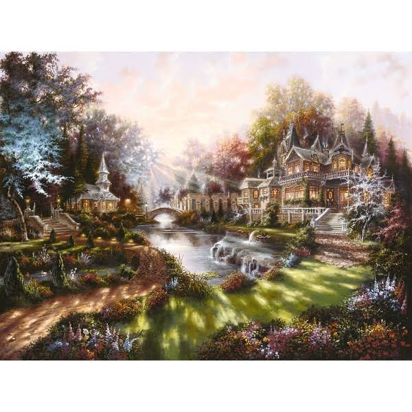 Ravensburger In The Morning Light 1000-Piece Jigsaw Puzzle