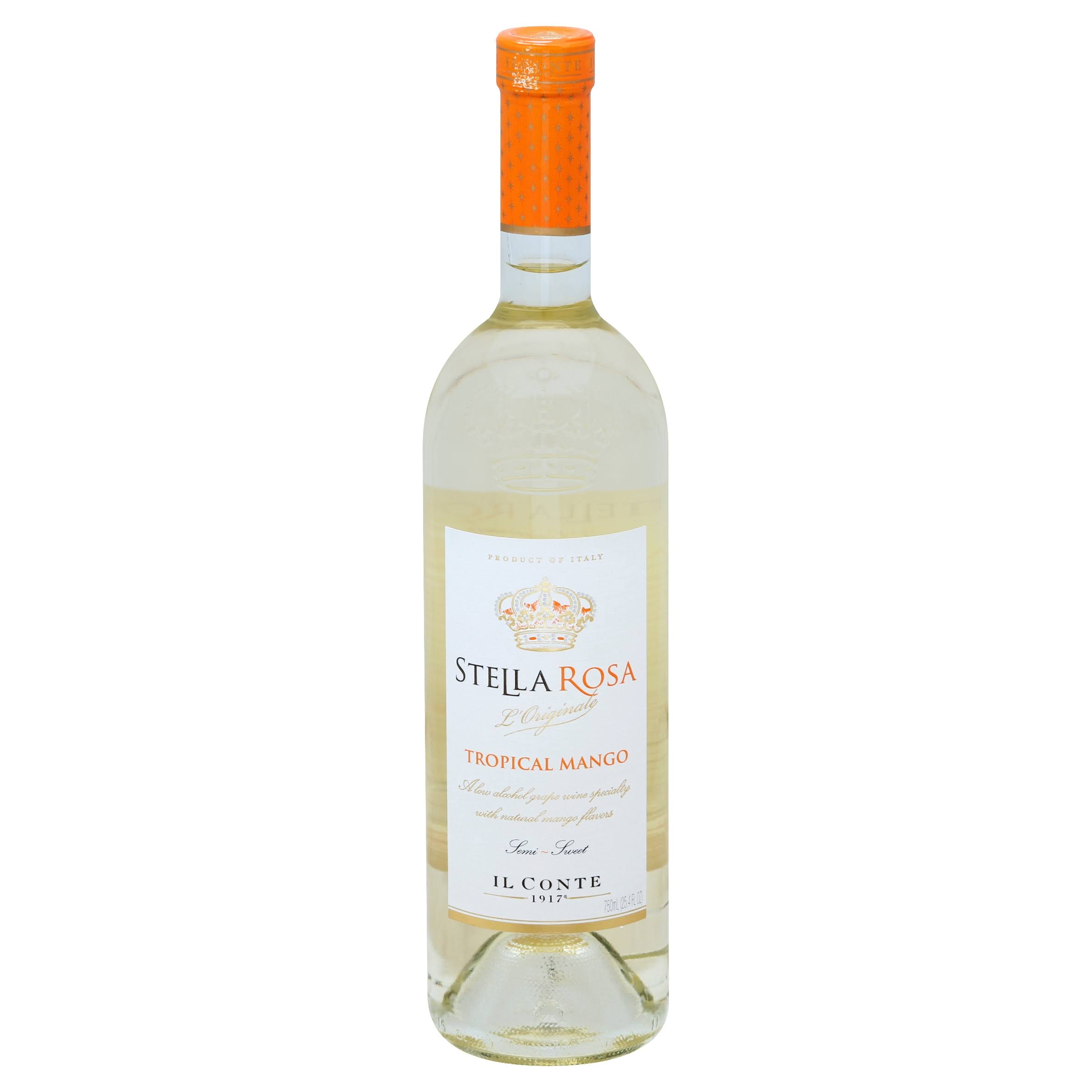 Stella Rosa L'Originale Wine, Tropical Mango, Semi-Sweet - 25.4 fl oz