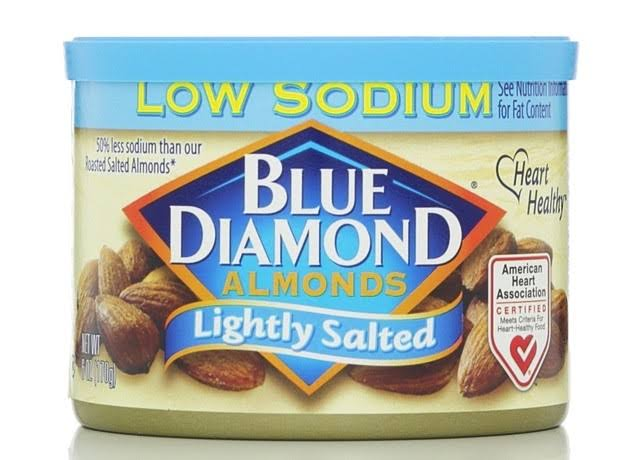 Blue Diamond Lightly Salted Almonds - 6oz