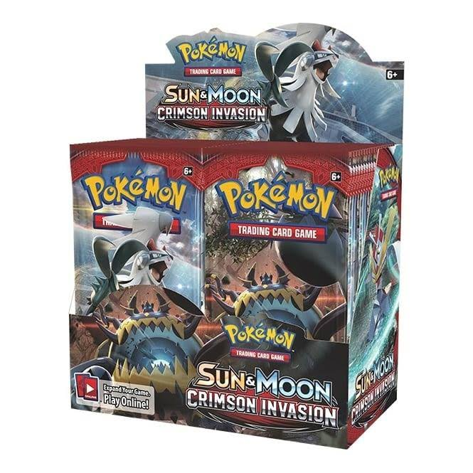 Pokemon Tcg: Sun & Moon Crimson Invasion Booster Box