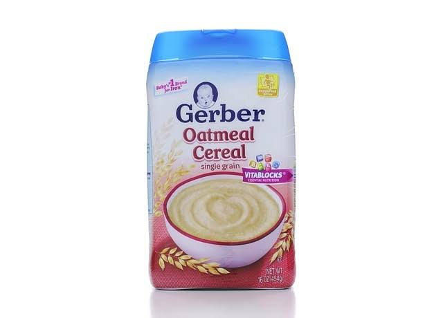 Gerber Single Grain Oatmeal Cereal - 16oz