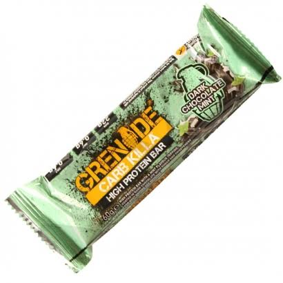 Grenade Carb Killa High Protein Bar - Dark Chocolate Mint, 60g