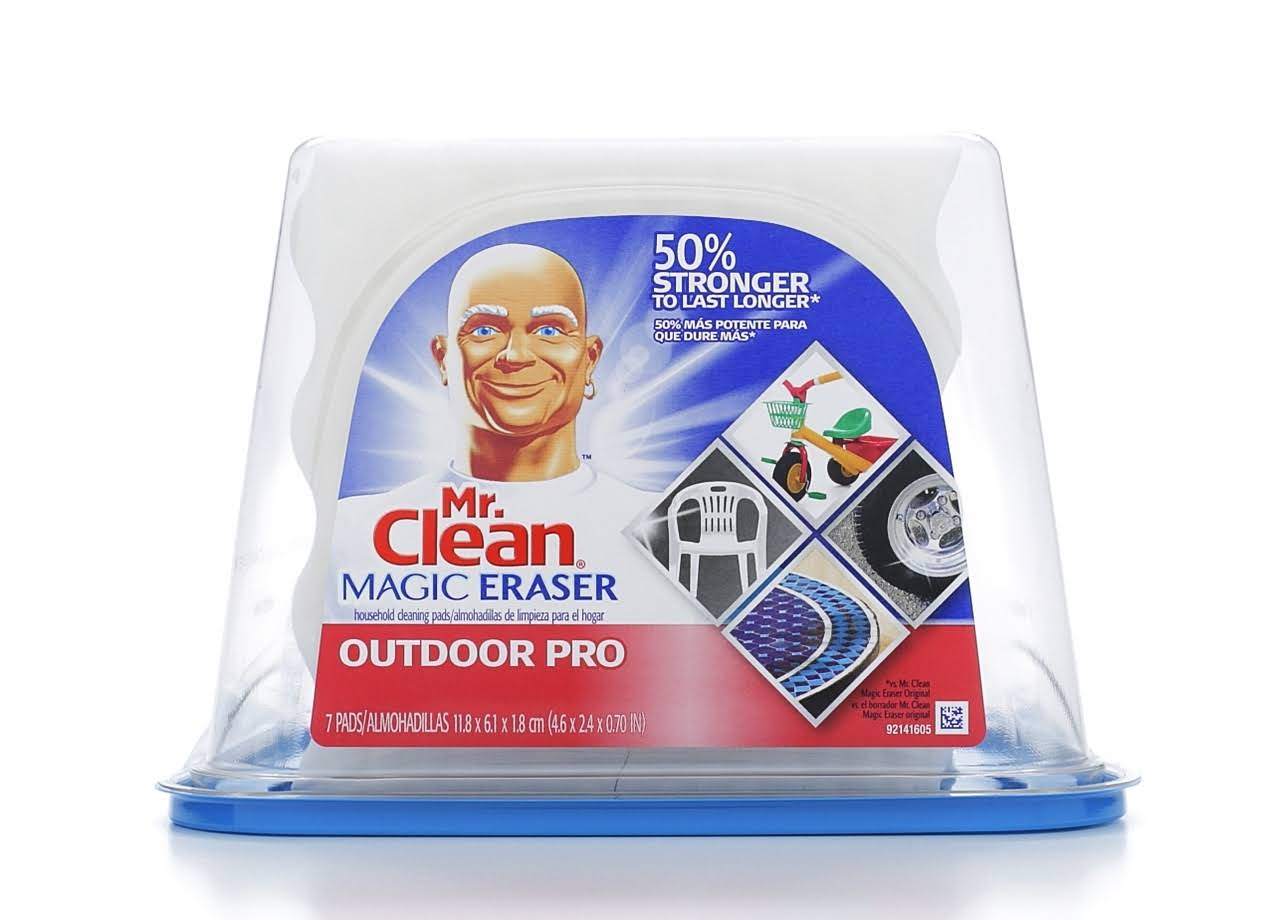 Procter and Gamble 83906 Mr Clean Magic Eraser Outdoor Pro Cleansing Pad