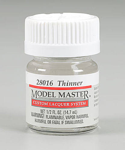 Testors Model Master Lacquer Thinner 1/2 oz