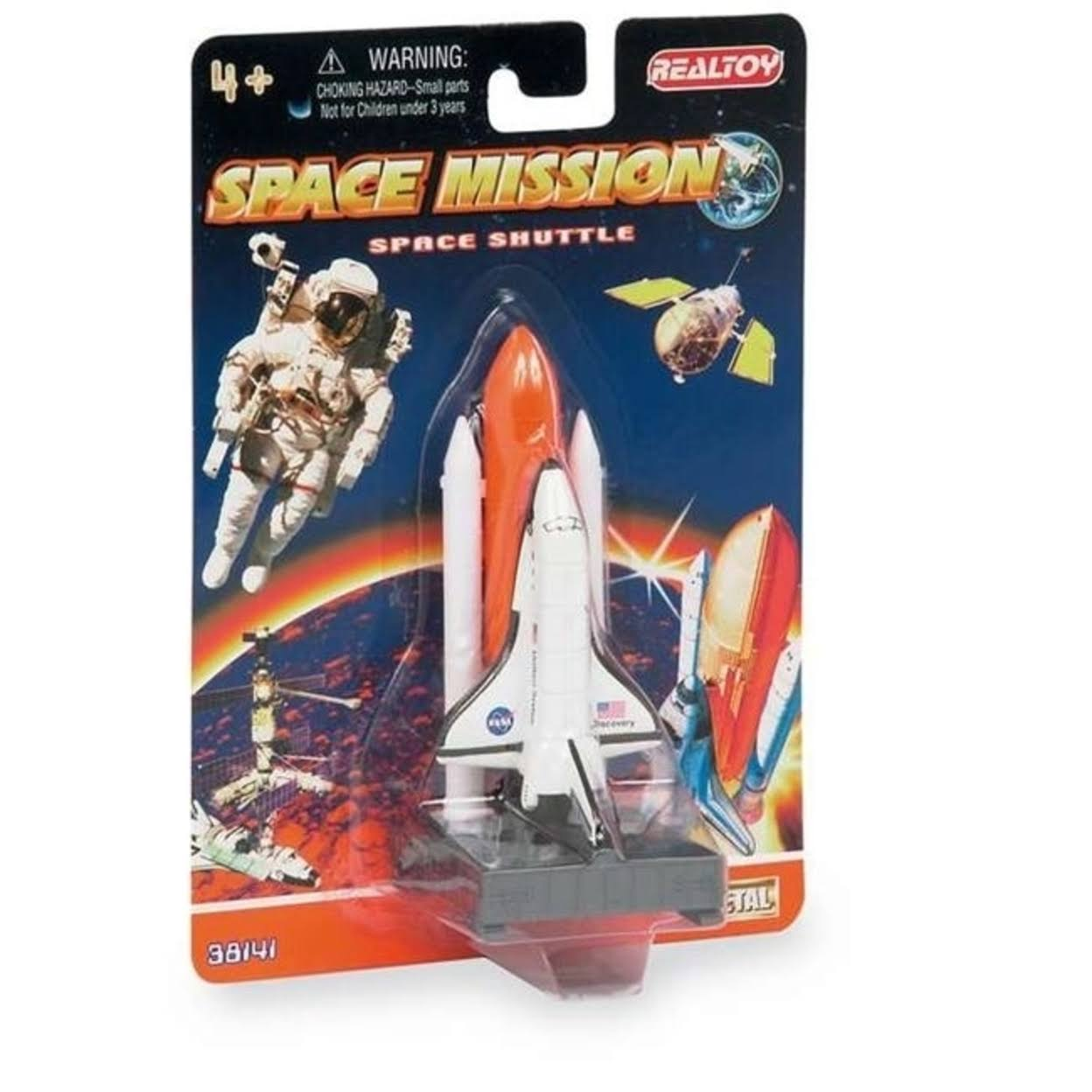 Daron Space Shuttle On Launch Pad Diecast - 4.5""