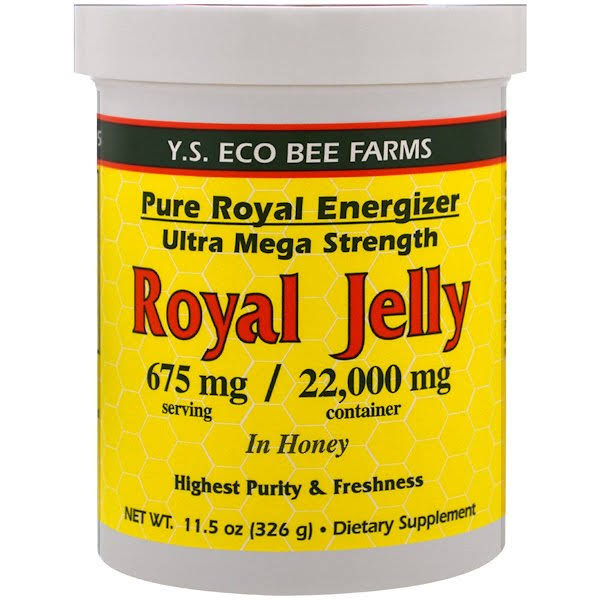 Y.S. Organic Bee Farms Royal Jelly in Honey