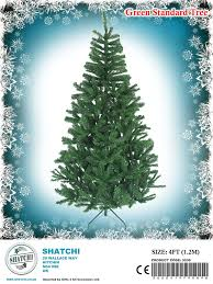 Balsam Christmas Tree Australia by 4ft 1 2m Luxury Bushy Christmas Tree Green Artificial Xmas Tree