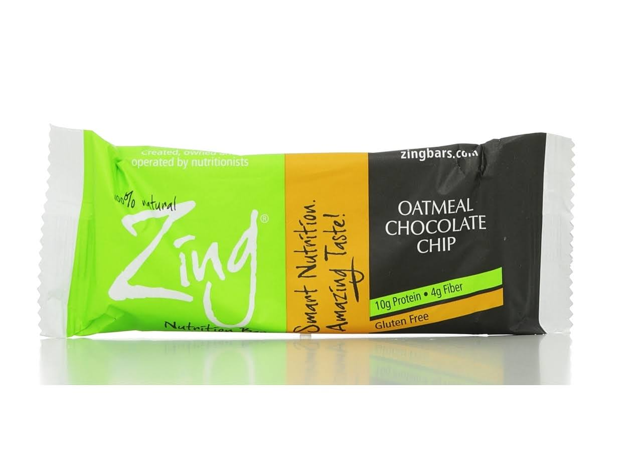 Zing Bar - Oatmeal Chocolate Chip, 50g