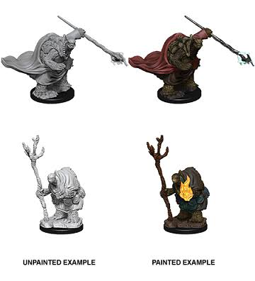 Dungeons and Dragons: Nolzur's Marvelous Unpainted Miniatures - Tortle Adventurers