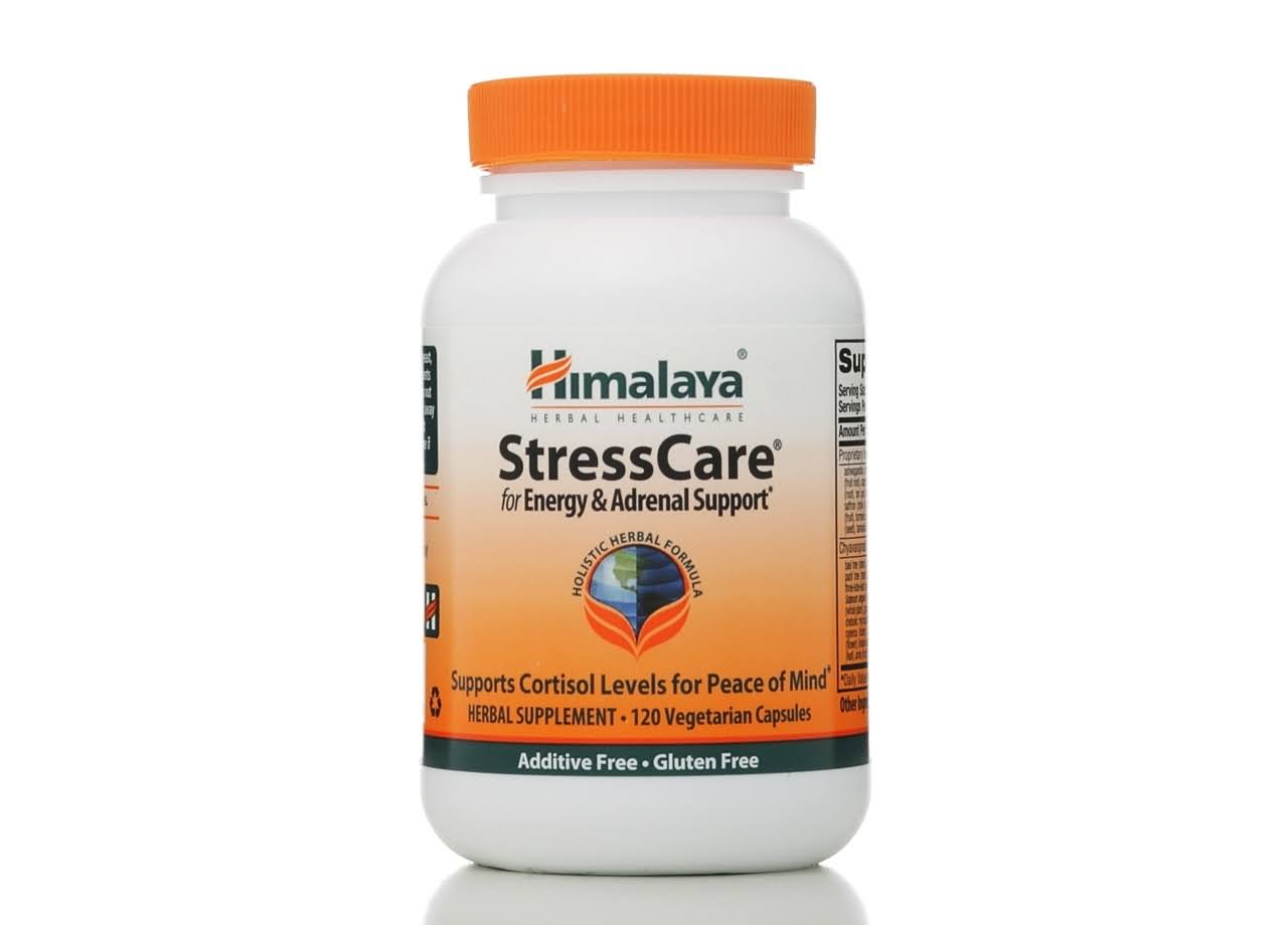 Himalaya Herbal Healthcare Stress Care Energy & Adrenal Support - 120 Capsules