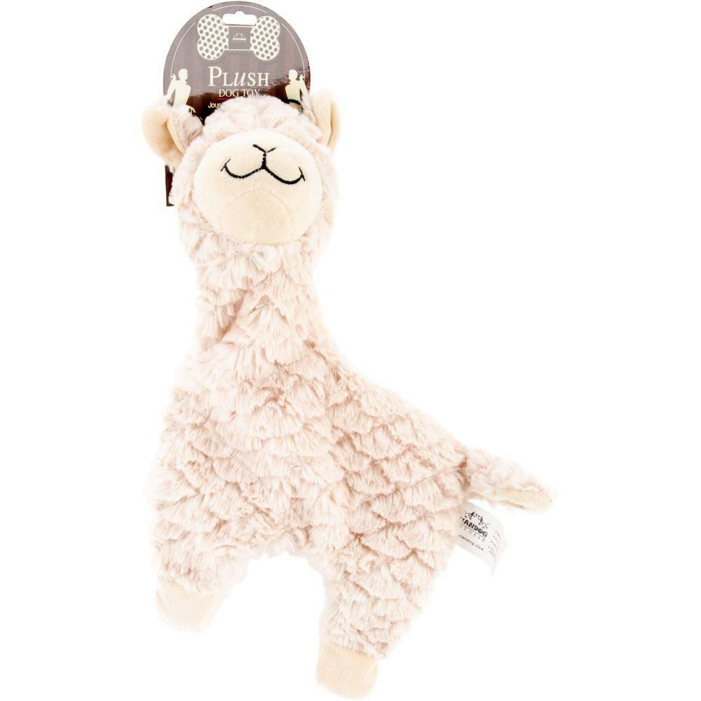 Nandog Pet Gear BF41W Alpaca Pet Plush Toy - White