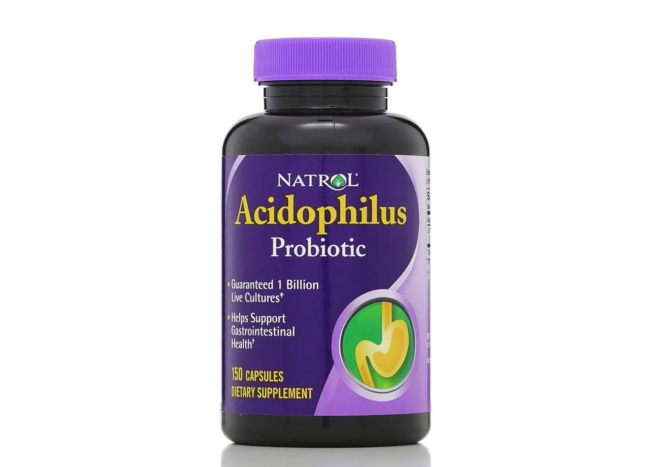 Natrol Acidophilus Probiotic Dietary Supplement - 150 Capsules