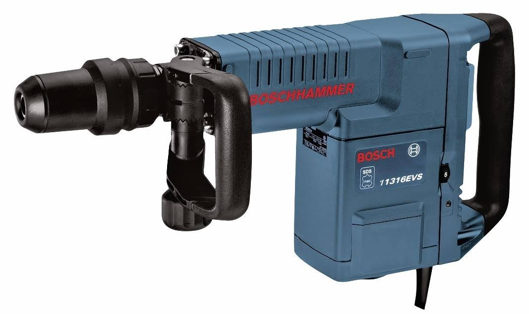 Bosch SDS-Max Demolition Hammer with Auxiliary Handle and Carrying Case - 14 Amp