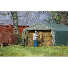 12x20 Storage Shed Kits by Storage Shelter 12 X 20 X 8 Ft