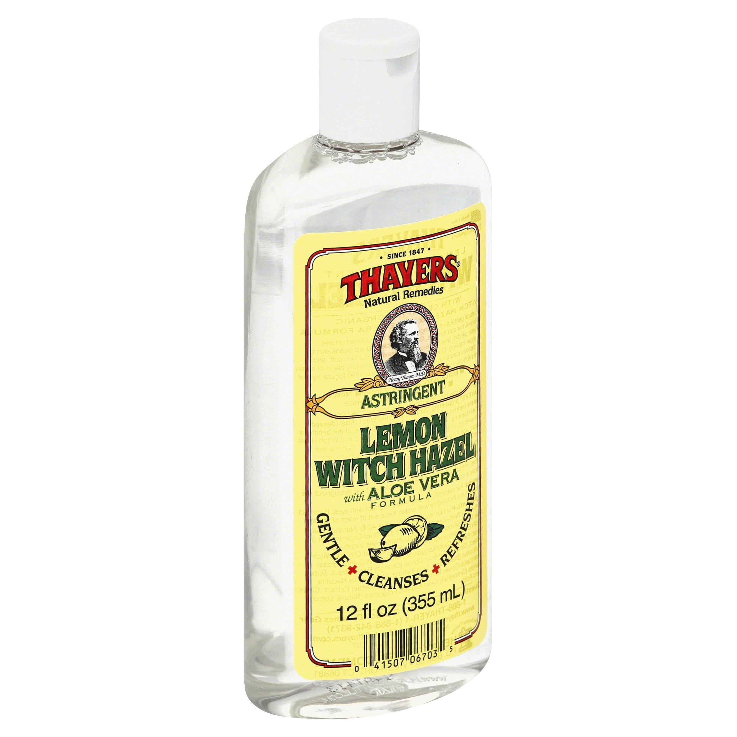 Thayers Witch Hazel Astringent - Lemon, 355ml