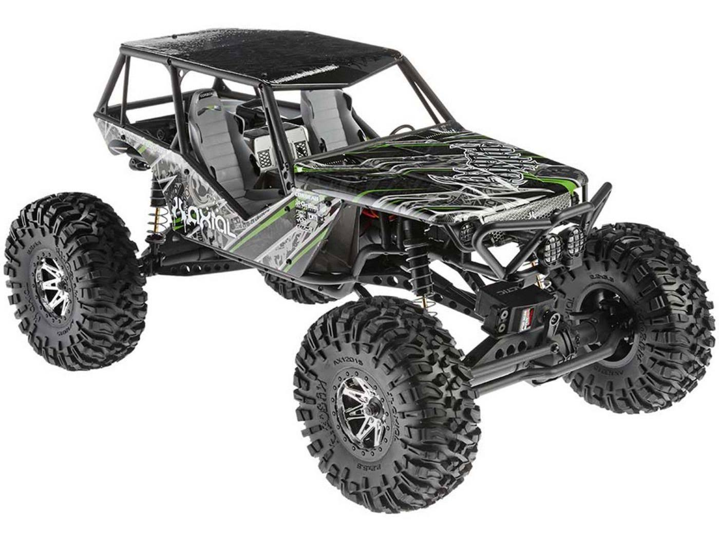 Axial RacingWraith Rock Racer 4WD Ready-to-Run Model Kit - 1/10 Scale