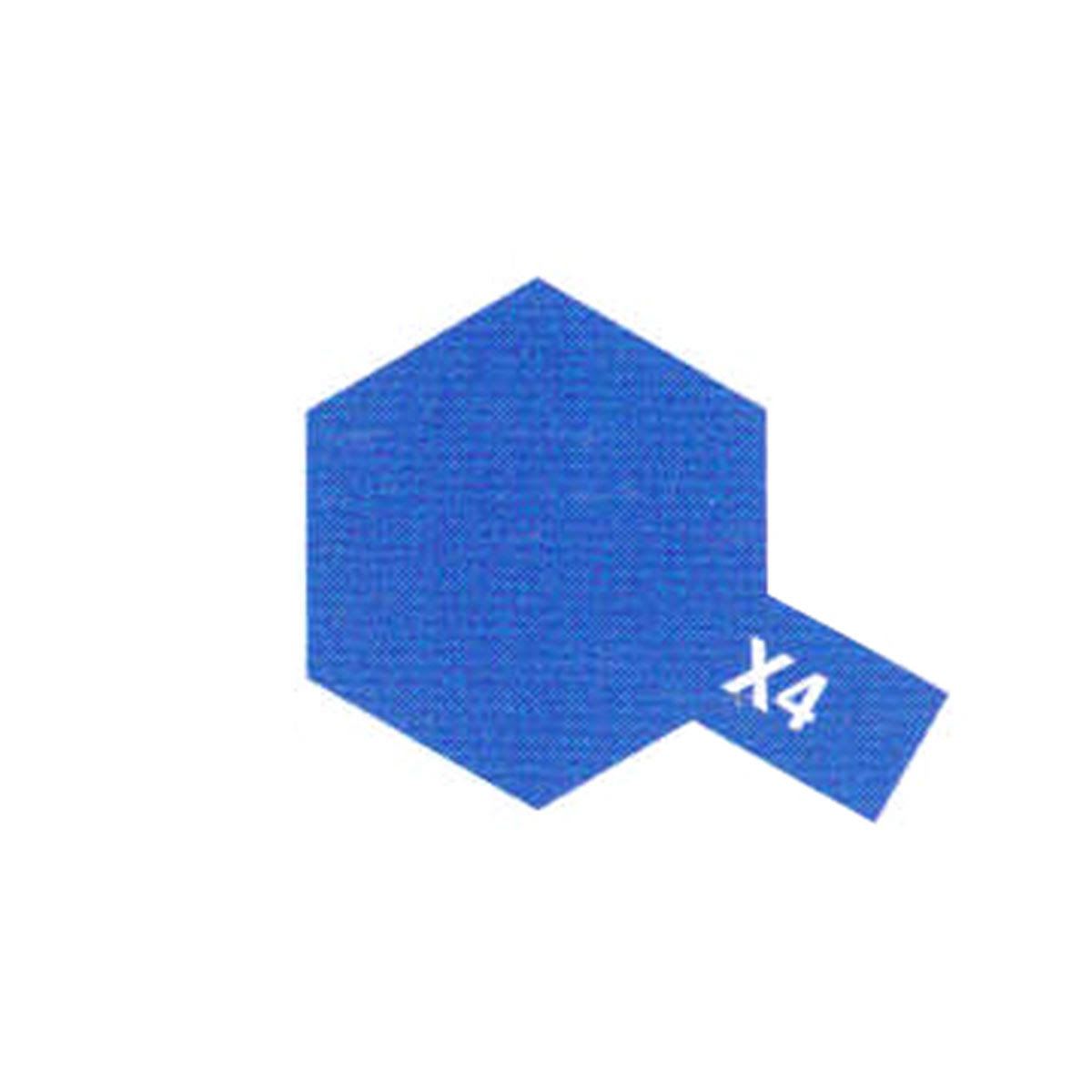 Tamiya 10ml X-4 Blue Acrylic Paint