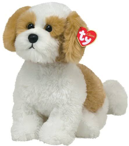 TY Classic Barley Plush Toy - Beige, White