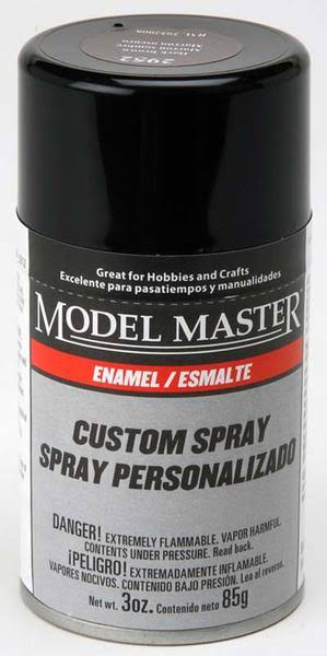 Testors mm 3oz Dark Brown Spray (G)